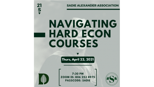 Sadie Alexander Association - Hardest Courses