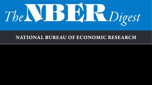 NBER Digest