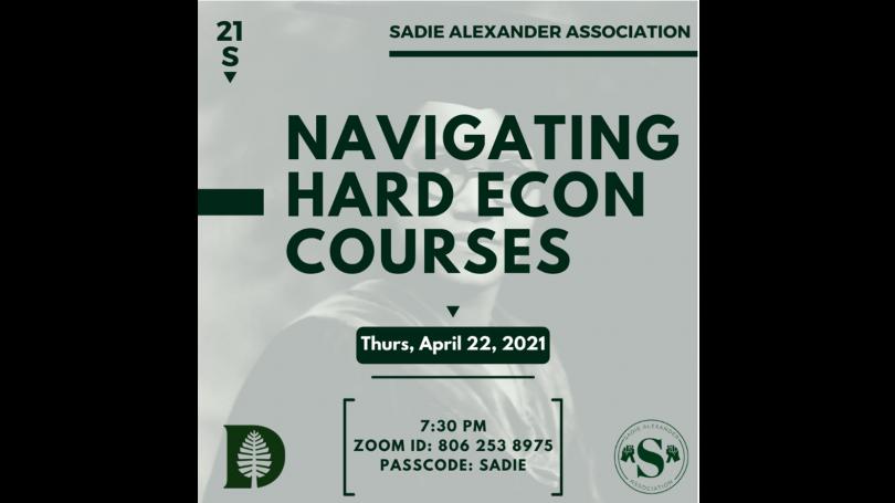 Sadie Alexander Association - Hardest Courses